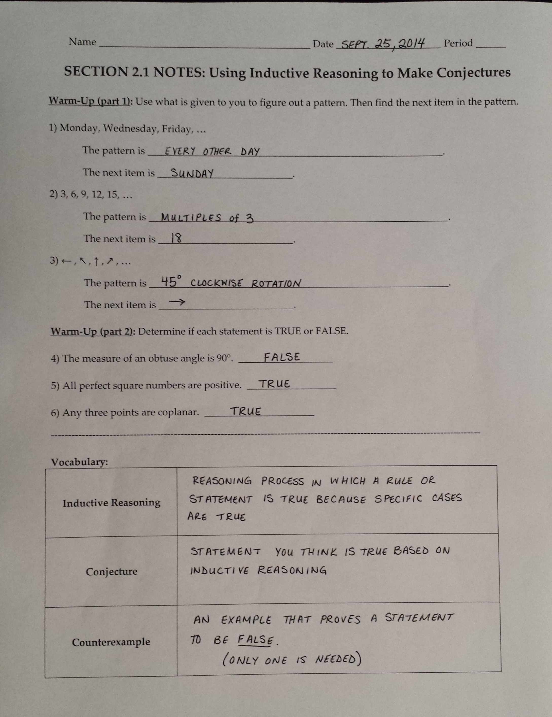 Worksheets Conditional Statement Worksheet With Answers mrs garnet at pvphs hw