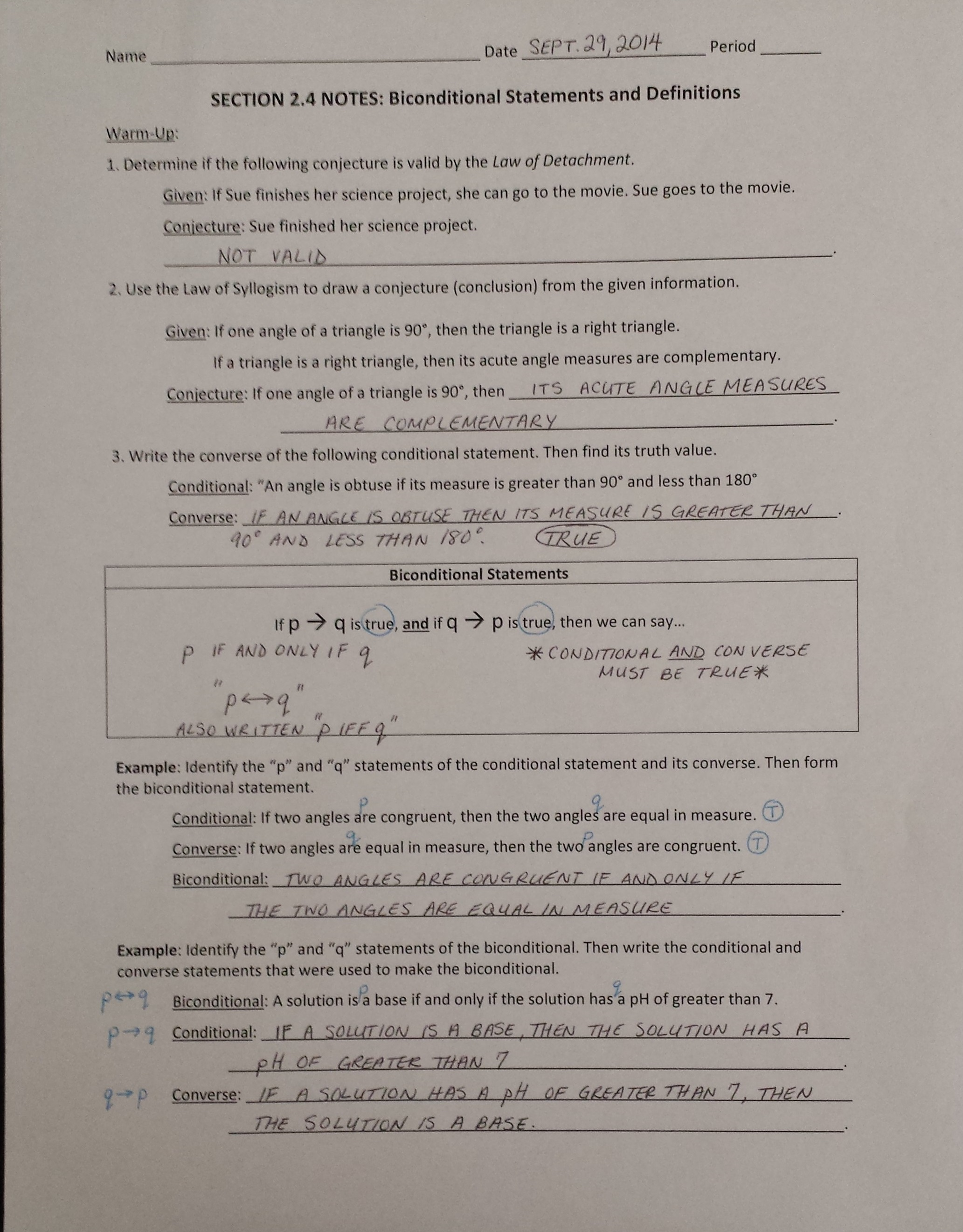 Worksheet Syllogism Worksheet mrs garnet at pvphs hw 21 2 4 worksheet 1 8 all tuesday september 30 classwork pg